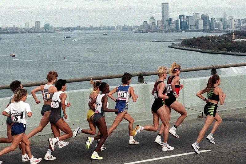 城市應該具備空間利用的多樣性。圖為1998年紐約馬拉松。 圖/法新社