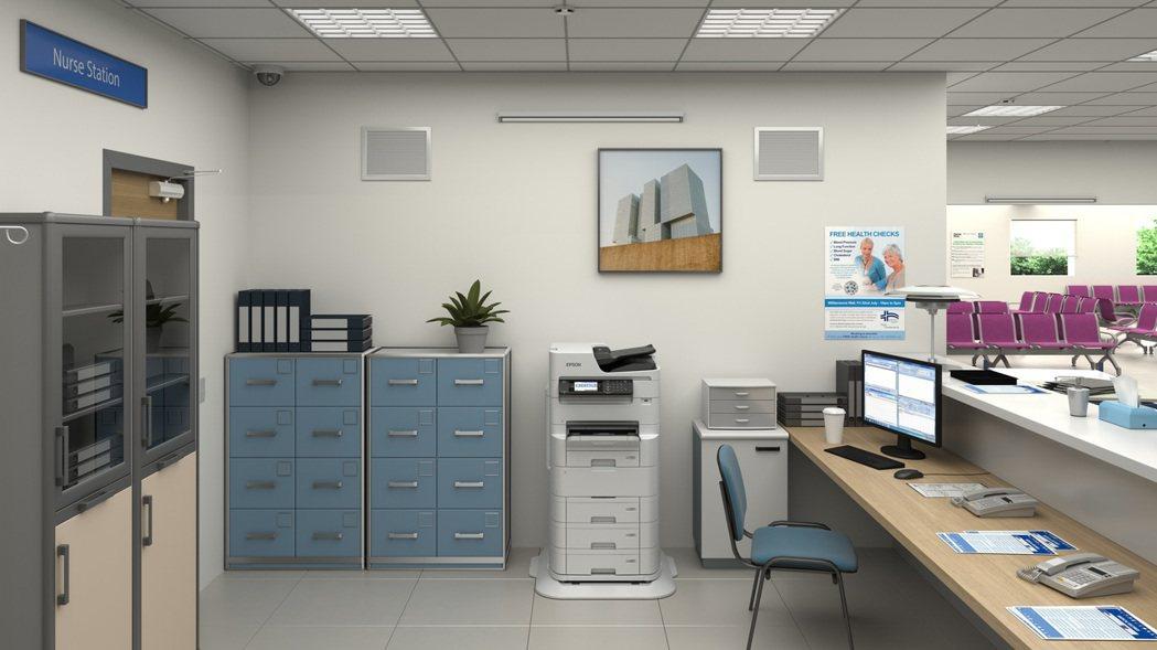 Epson省彩印極速微噴影印機WF-C879R,黑白/彩色列印速度達26/25 ...