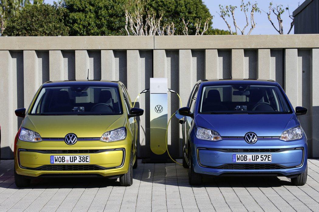 Volkswagen e-up!純電小車。 摘自Volkswagen
