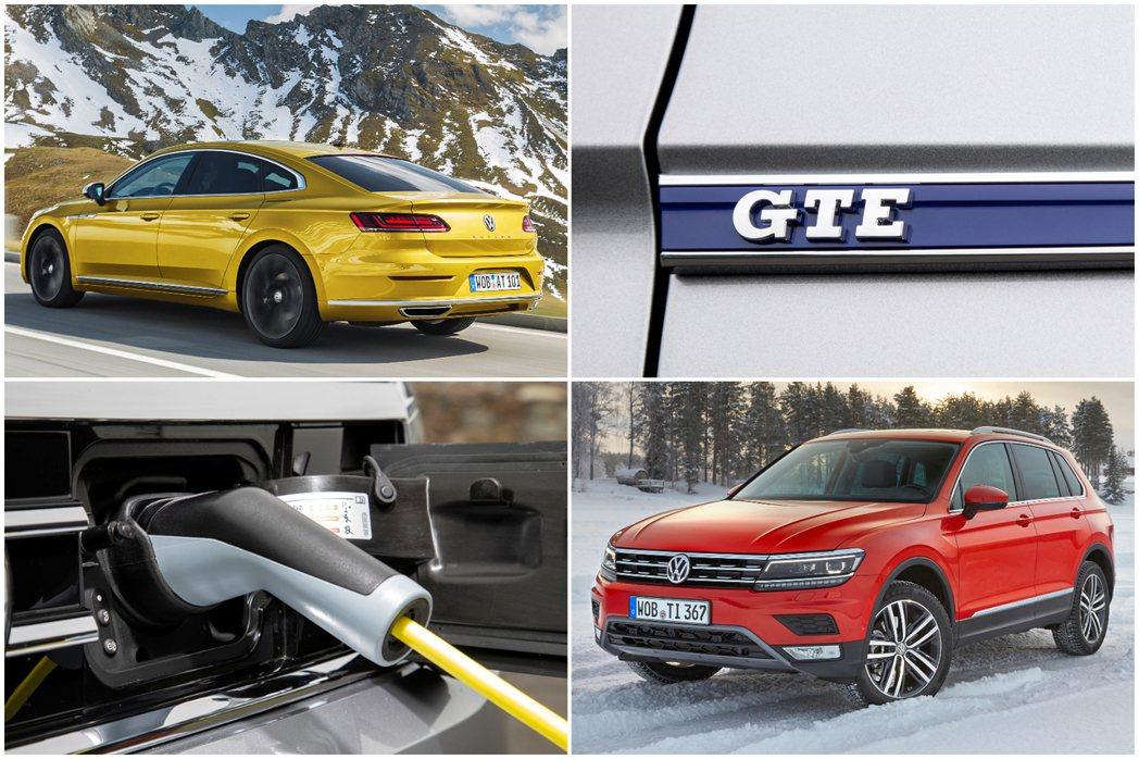 Volkswagen Arteon與Tiguan皆預計於今年底迎接全新的GTE插...