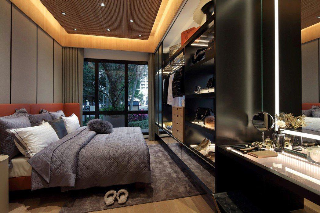 50~70坪為主力的輕豪宅崛起於市。圖/長虹建設提供
