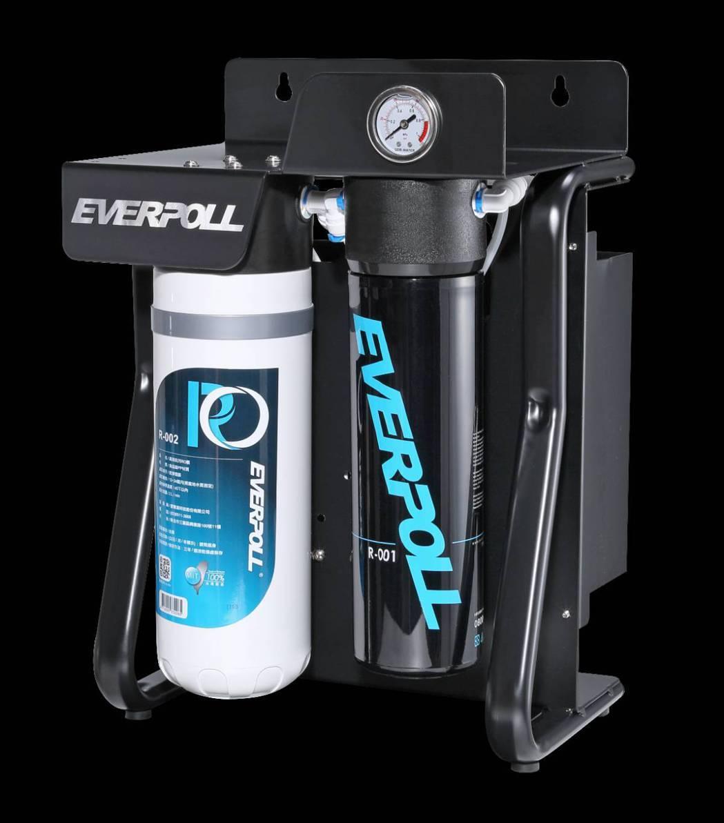 直出式極淨純水設備 (RO-900)產品圖。 愛惠浦科技/提供