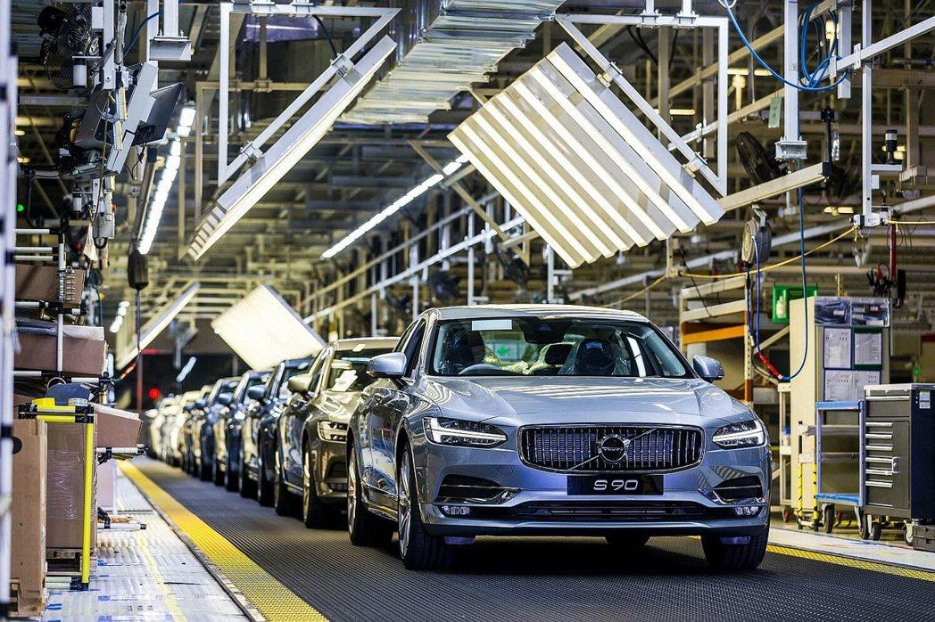 吉利集團全力挹注Volvo Cars在中國的各項發展,目前已經具備3座新車生產基...