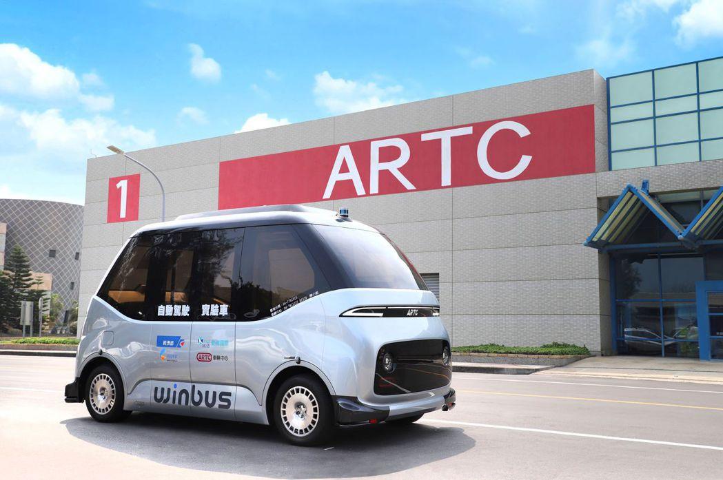 WinBus自駕電動小型巴士,是車輛中心在經濟部技術處科技專案支持下,集結國內自...