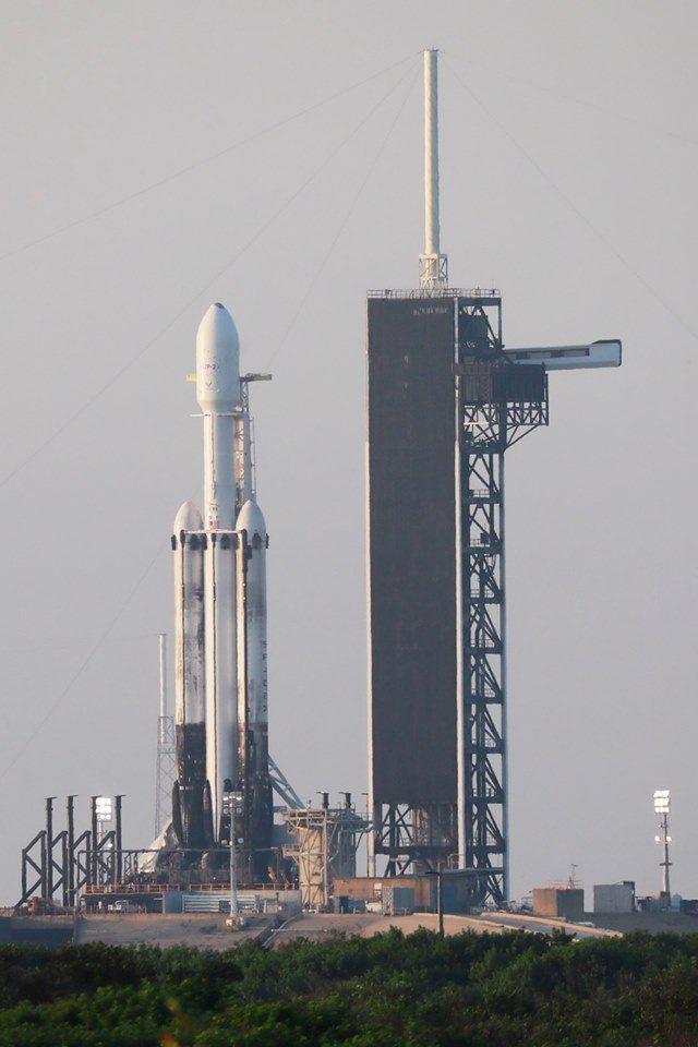我國人造衛星福衛七號日前委託美國火箭公司,於美國發射。圖/取自國家太空中心臉書粉絲專頁