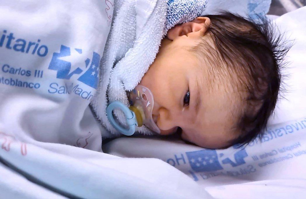 祕魯兩名新冠肺炎確診孕婦產下健康寶寶。圖中嬰兒與本新聞無關。法新社