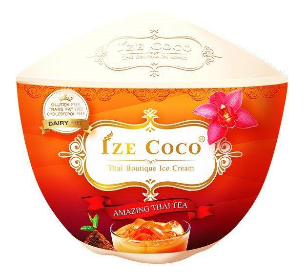 泰國Ize Coco經典泰奶冰淇淋,售價99元、5月19日前嘗鮮價89元。圖/7...