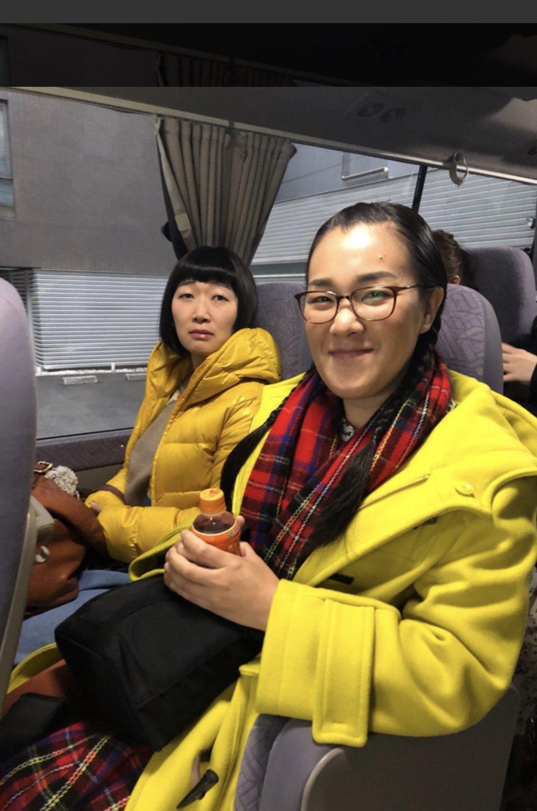 白鳥久美子(右)與川村惠美子組成的「蒲公英」在日本擁有頗高人氣。圖/摘自部落格