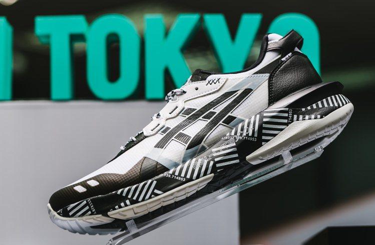 ASICS摩登東京系列Gel-Lyte XXX鞋3,800元。圖/ASICS提供