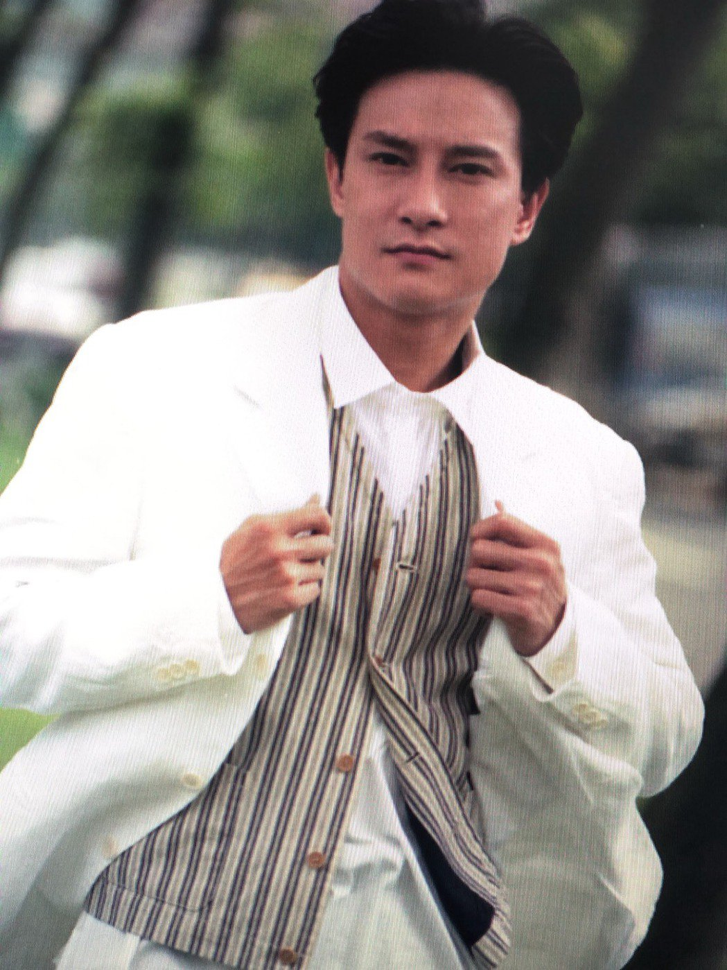 劉錫明當年外型俊帥,出道即備受矚目。圖/本報資料照