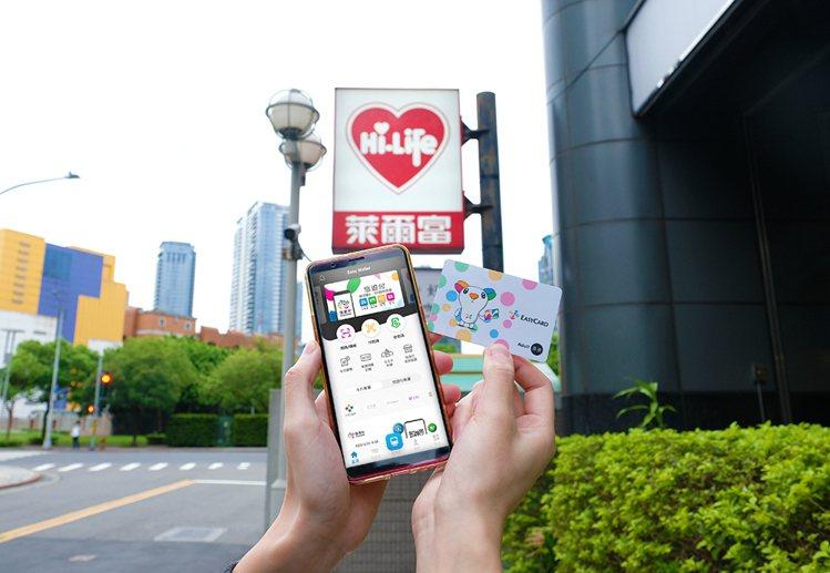 萊爾富即日起與悠遊卡公司結盟,成為首家可使用「悠遊付」的超商。圖/萊爾富提供