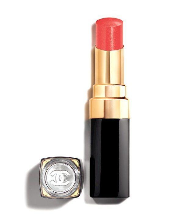 COCO晶亮水唇膏#146絢麗:金燦橘 3g,1,280元。圖/香奈兒提供