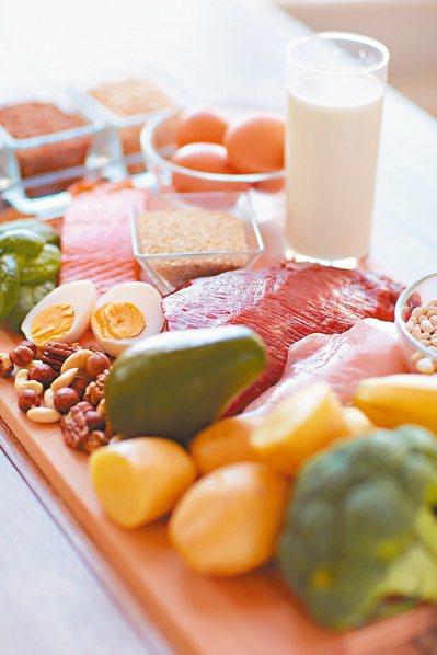 優質蛋白質的豆、魚、蛋、肉類及乳品類含量豐富,營養吃得夠,免疫力自動升級。 圖/...
