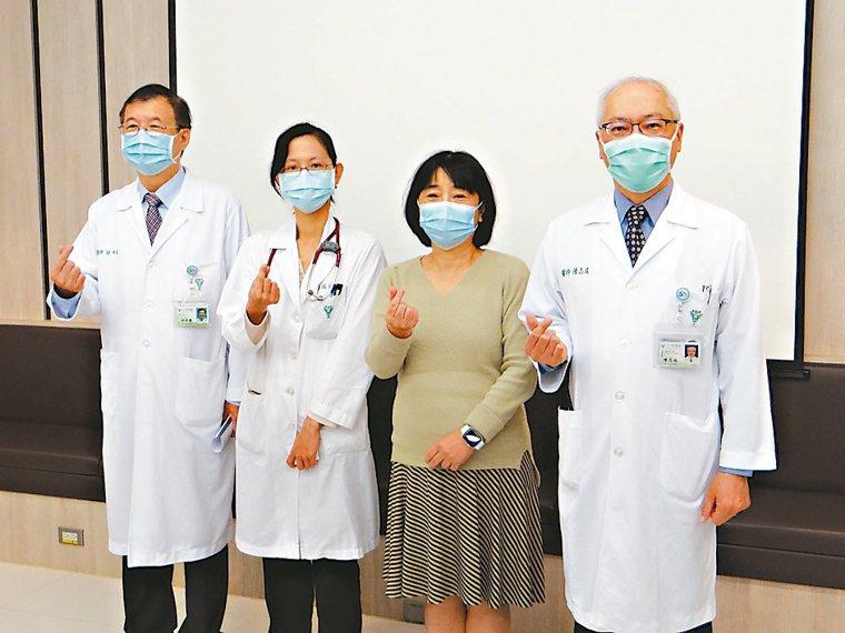 奇美醫學中心成立「抗癌護心」跨醫療團隊,迄今成果顯著。 圖/奇美醫學中心提供