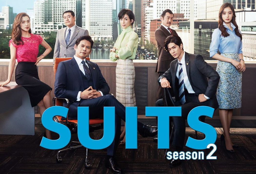 《SUITS無照律師S2》因及集數長開拍早,存檔充足。圖/擷自官方Instagr