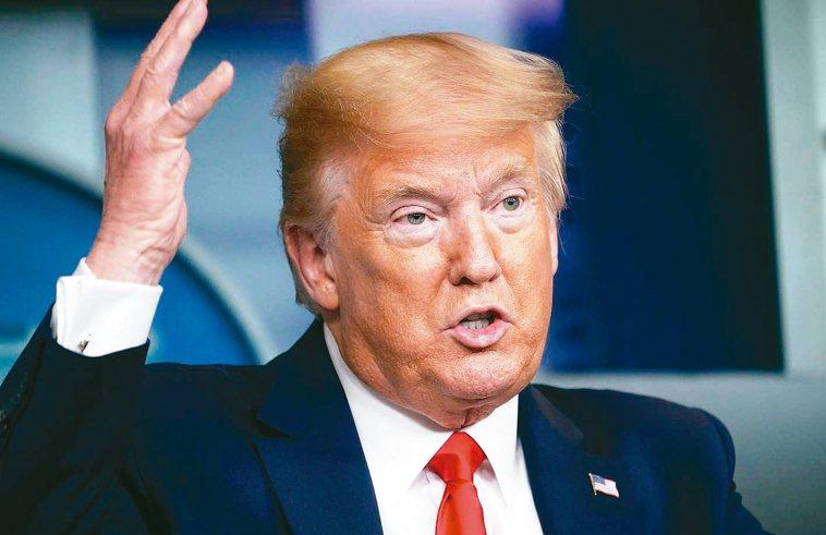 美國總統川普。 法新社