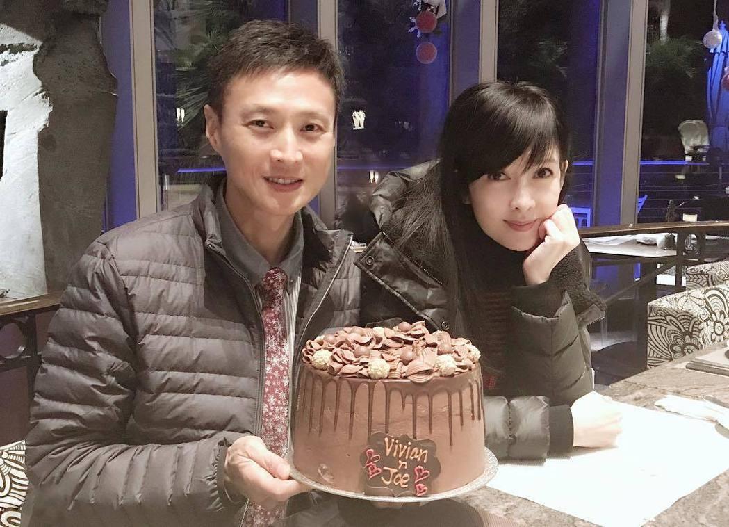 周慧敏去年才與老公倪震歡慶結婚十周年。 圖/擷自周慧敏IG