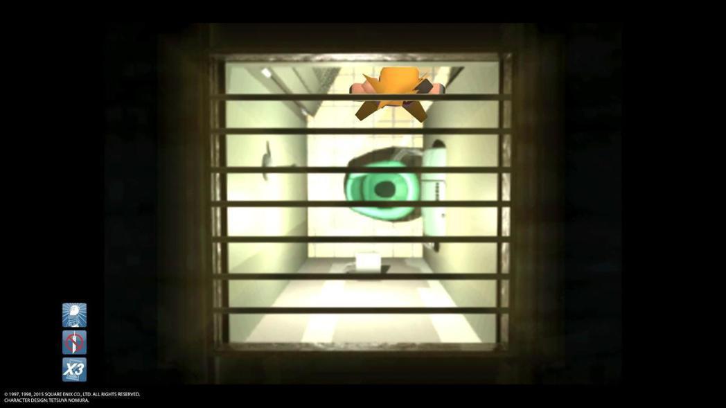 經典的廁所通風口,曾被許多遊戲與動漫拿來當哽用。