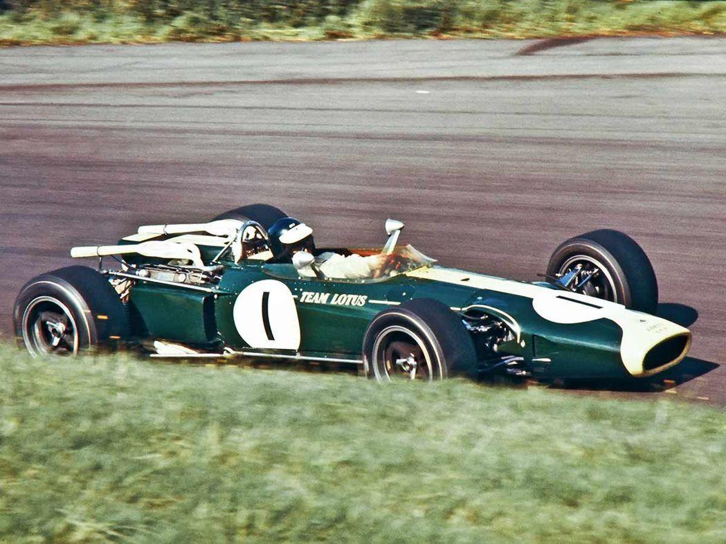 Jim Clark, Lotus-BRM 43。 摘自pinterest.com