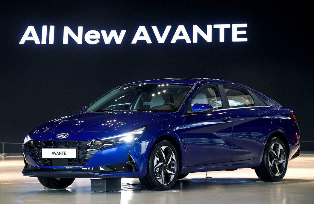 第七代Hyundai Elantra/Avante 7日正式於韓國上市。 摘自H...