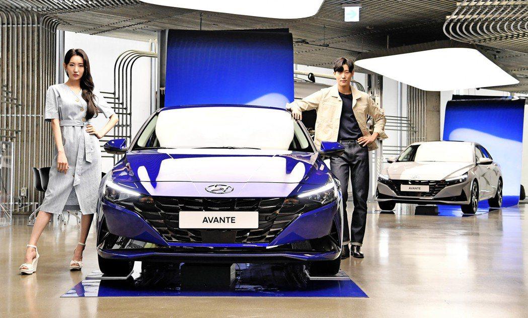第七代Hyundai Elantra/Avante 7日已於韓國正式上市。 摘自...