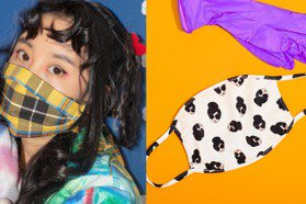 Alice+Olivia的口罩超好看!時尚圈加入防疫大作戰 推出自家布料口罩順便做公益