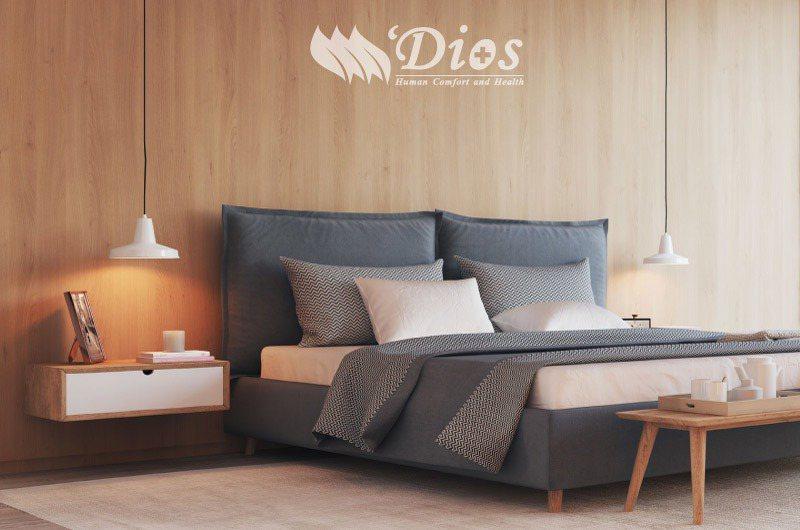 迪奧斯用心打造消費者舒適、優質的天然乳膠床墊。迪奧斯/提供