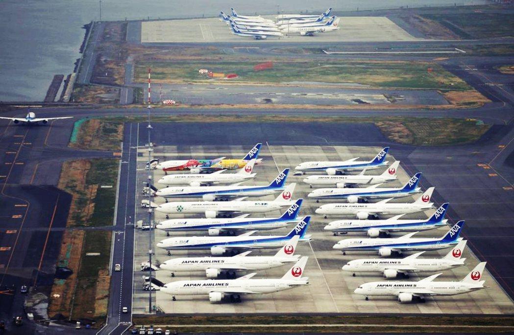 圖為羽田機場。 圖/美聯社