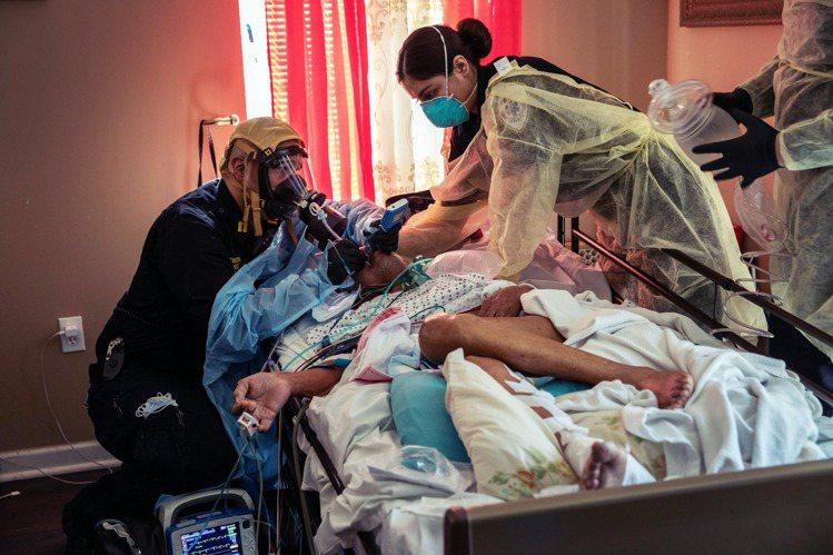 美國本土的疫情大爆炸,各州的呼吸器、N95口罩、防護衣...等防疫物資仍嚴重斷貨...