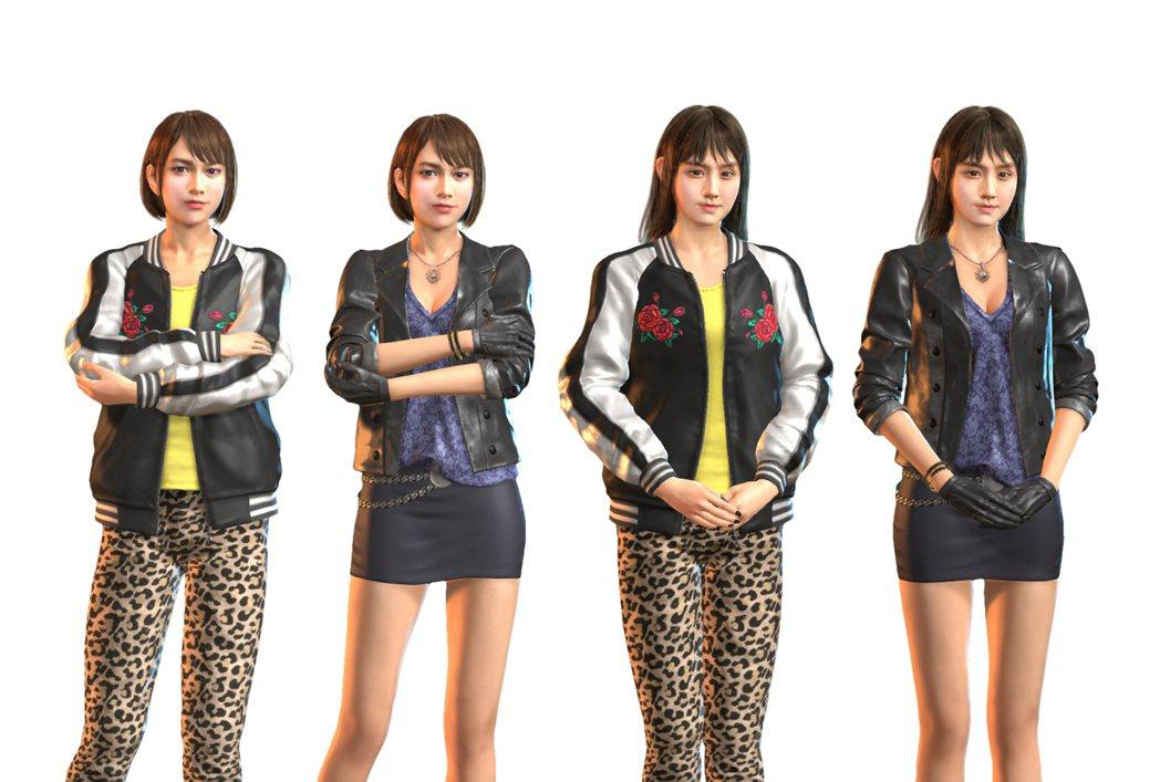 雙女主角服裝套組