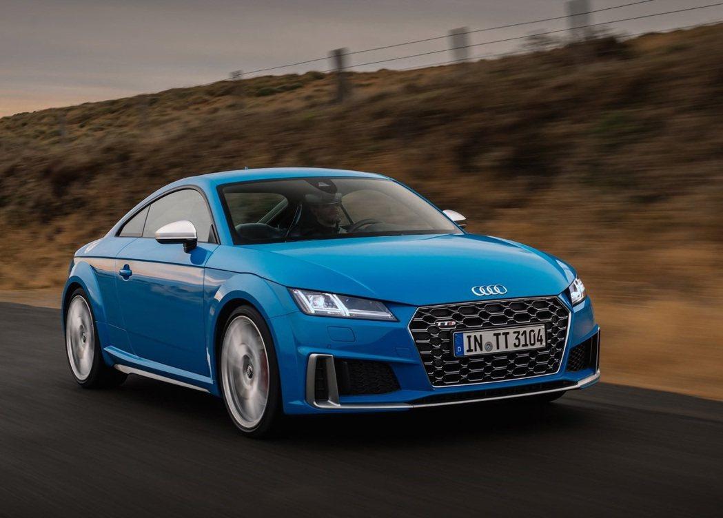 Audi TTS。 摘自Audi