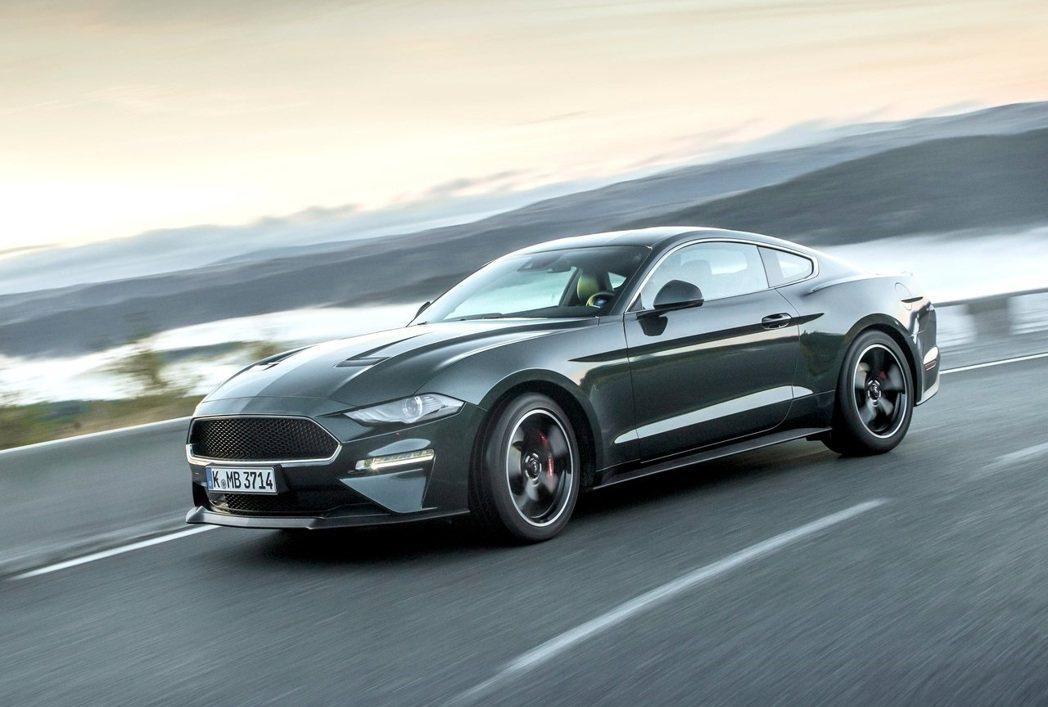 Ford Mustang Bullitt。 摘自Ford