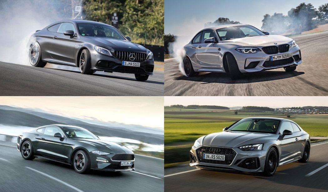 雙門轎跑一直都是具有個性化的市場車種。 摘自各車廠