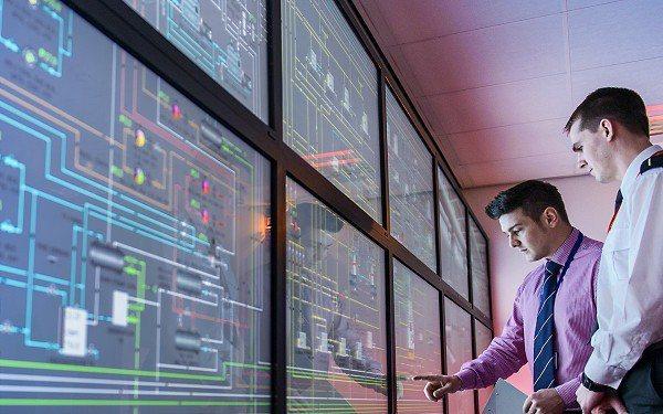 圖1 : 在疫情停工期間,製造業者可透過遠端監控管理平台。(source:MAN Energy Solutions)