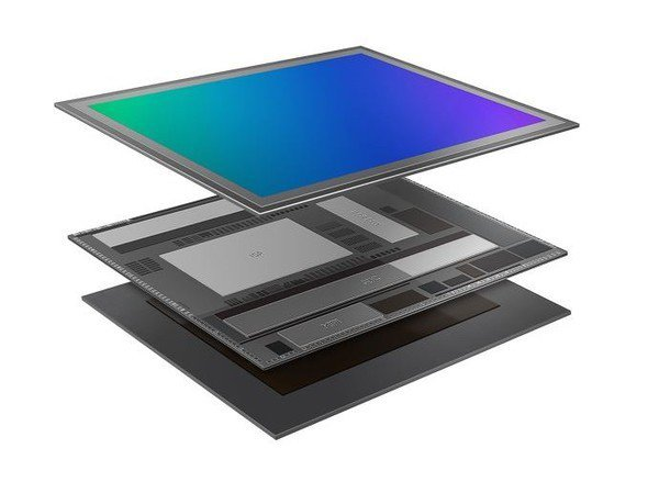 圖一 : 三星把DRAM整合至影像感測器之中,完成了一種三層的架構。(source:三星)