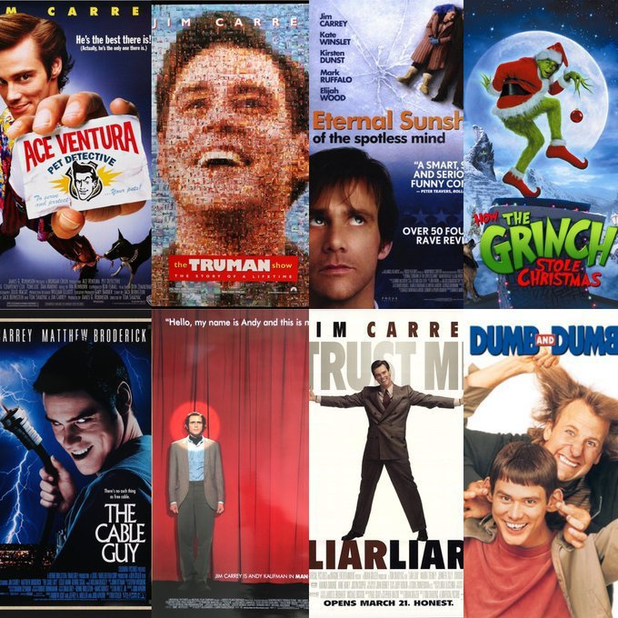金凱瑞8部名作,哪一部才是歐美觀眾的最愛?圖/摘自twitter