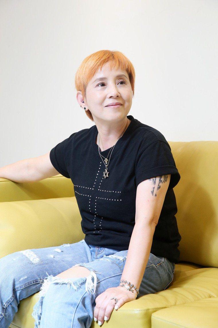 李明依罹癌,手術後已平安。本報資料照