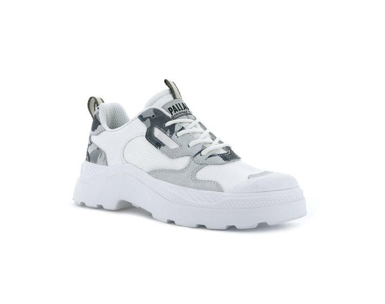 PALLADIUM英軍迷彩PALLAKIX 90 LOW CAMO鞋3,380元...