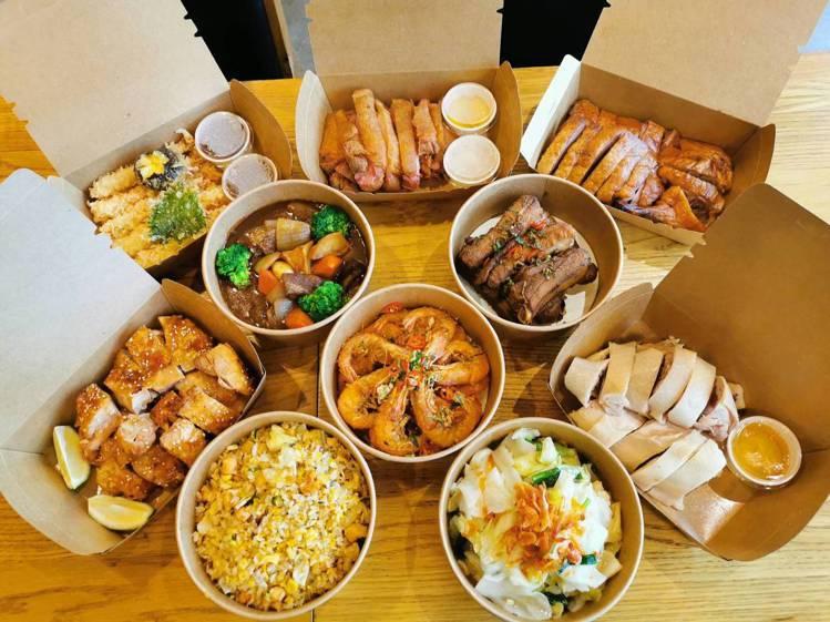 饗食天堂經典大滿貫組合。圖/饗賓餐旅提供