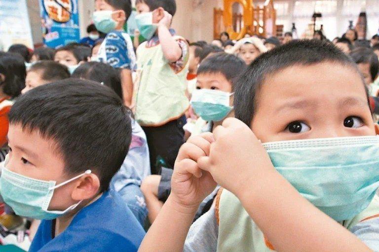 兒童口罩示意圖。本報資料照片