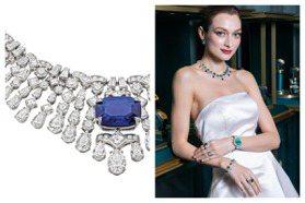 50億寶格麗頂級珠寶展施電影魔法!紅藍綠寶華麗演出