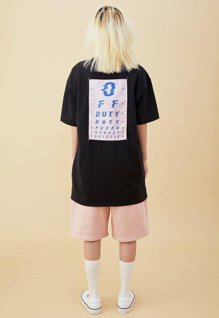 Off Duty與BLYSZAK聯名系列T恤2,680元。圖/Artifacts...