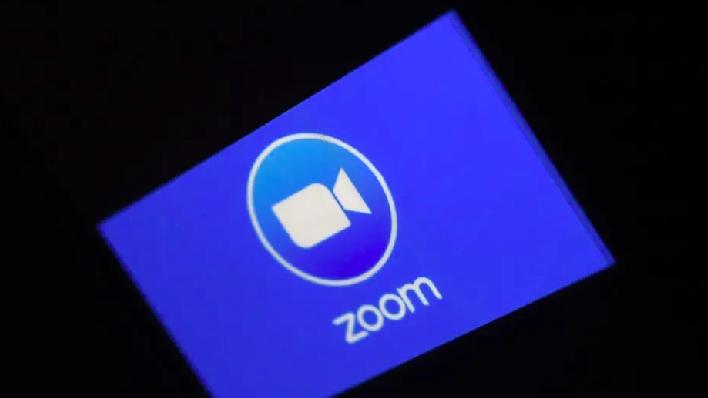 視訊軟體Zoom爆紅,但近半月發生隱私安全漏洞,股價大跌。照片/法新社
