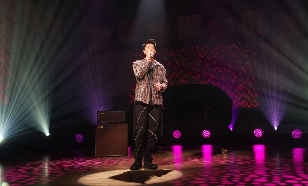 王力宏以雲錄製方式重返大陸節目「天賜的聲音」。圖/宏聲音樂提供