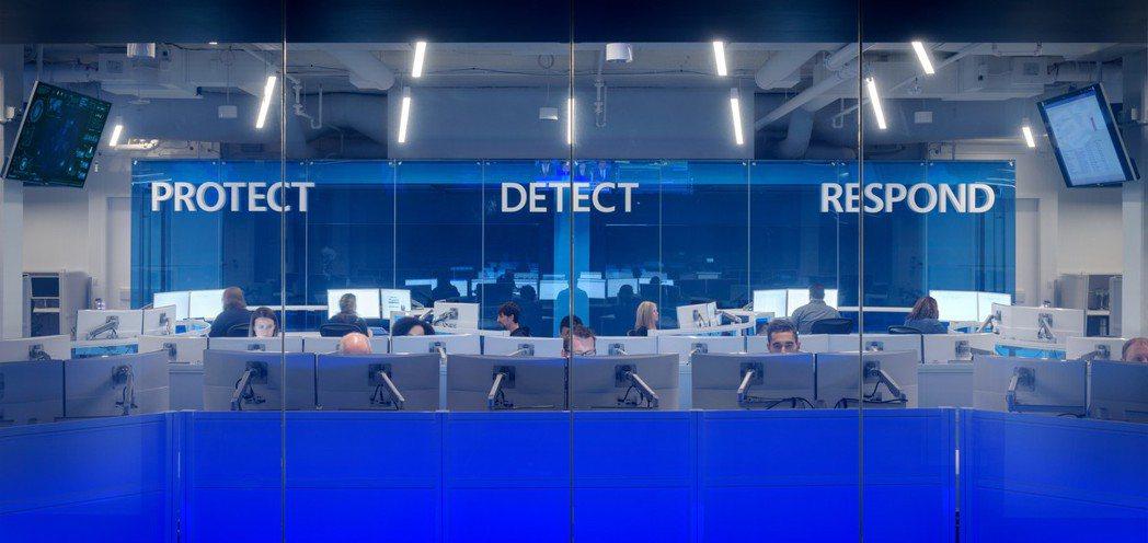 微軟打造資安安全防護網。微軟/提供