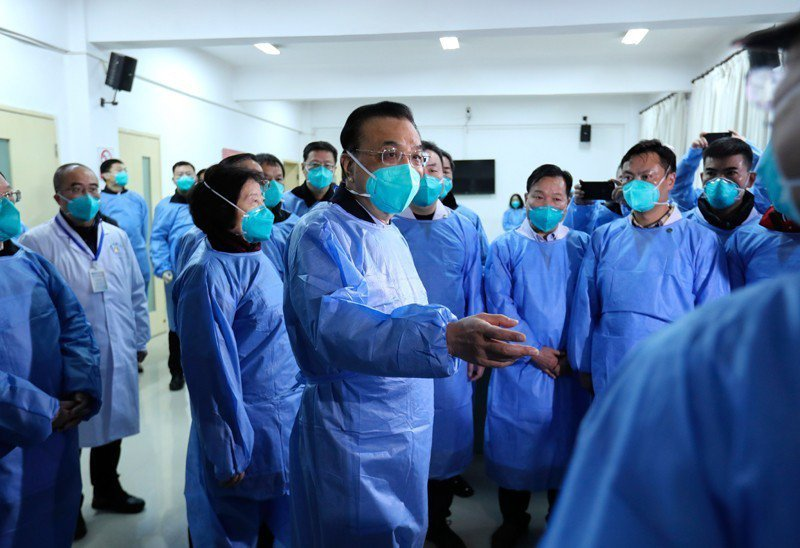 大陸國務院總理、中央應對新冠肺炎疫情工作領導小組組長李克強。圖/取自中國政府網