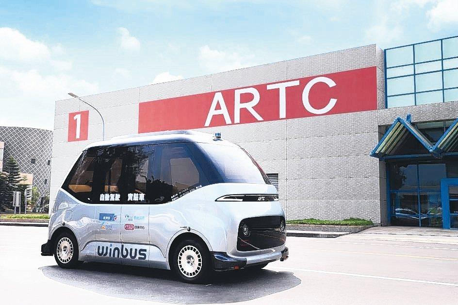 WinBus自駕電動小型巴士是由車輛中心集結國內自駕車產業鏈20家以上廠商,自研...