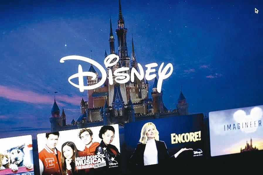 Disney+搭上疫情商機,訂戶大增。 美聯社