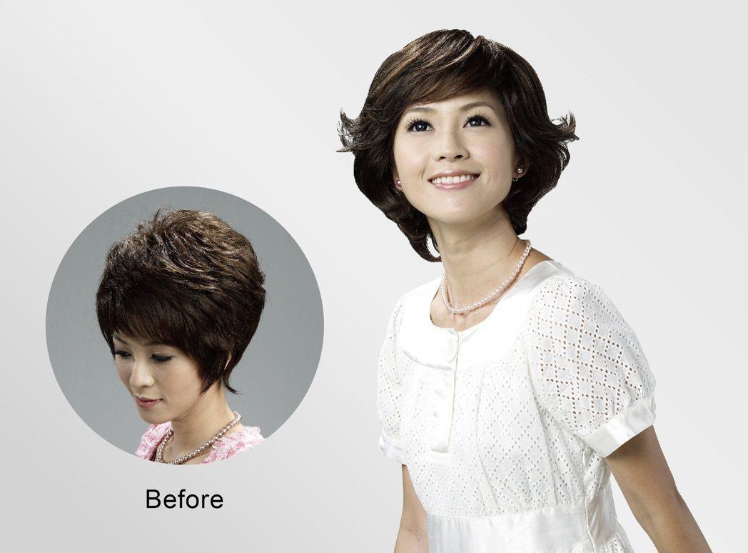 全台門市皆提供超過1500頂選擇,一定能找到最『像自己』的假髮。