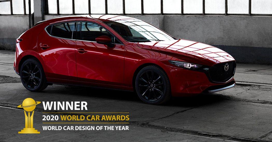 同時入圍世界年度風雲車與年度設計風雲車的Mazda3,最終只拿下後者。 摘自Ma...